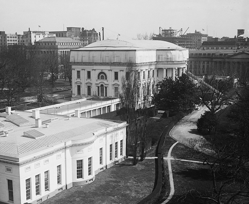 1927 White House roof renovation